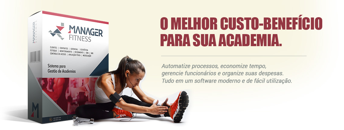 Fitness Manager para Academias